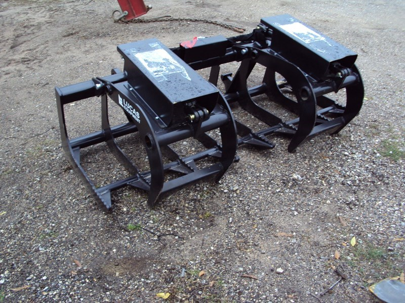 Lucas 6ft Twin Cyl Euro / Global grapple Grapple For Sale