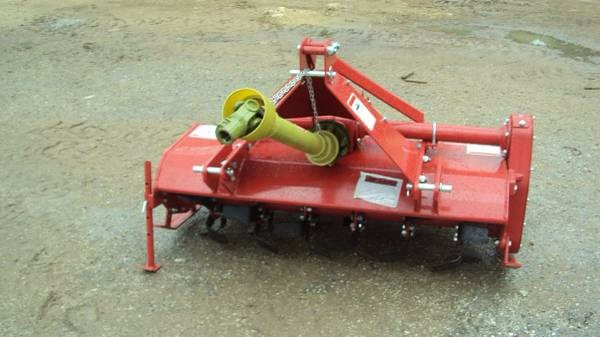Cherokee 3pt. 4Ft PTO Gear Drive Tiller RT4 Rotary Tiller For Sale