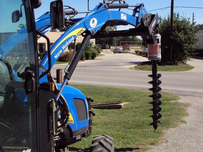 Premier Hyd Auger off set auger Post Hole Digger For Sale