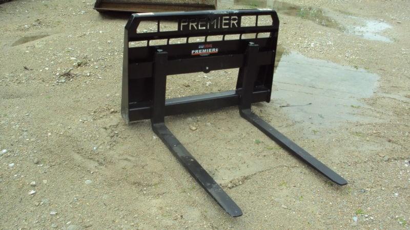 Premier Skid Steer Forks Attachments For Sale