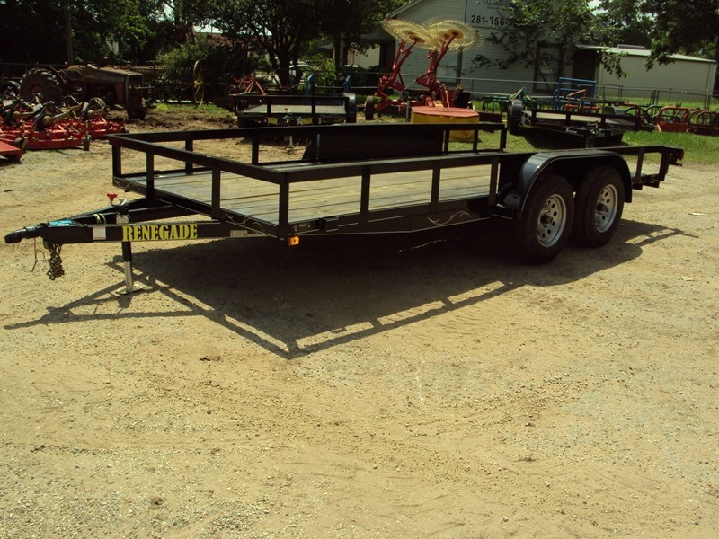 Renegade 16' Tandem Axle Utility Trailer For Sale