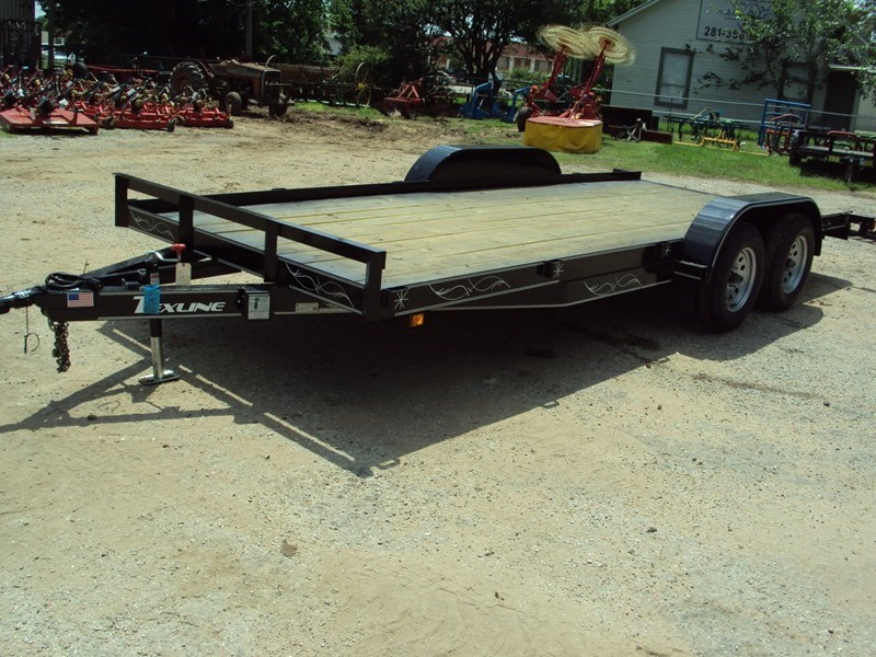 TexLine 18' tandem axle  Car Hauler For Sale