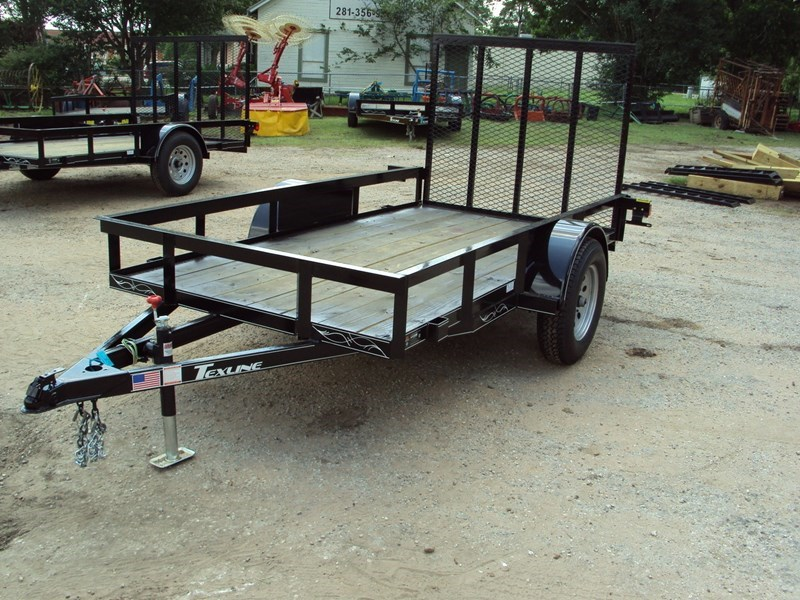 TexLine 5x10 w/Ramp Utility Trailer For Sale