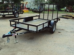 Utility Trailer For Sale:  TexLine 5x10 w/Ramp
