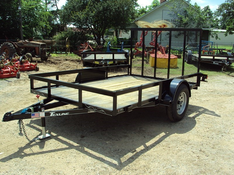 "TexLine 77""x10' w/ Ramp Utility Trailer For Sale"
