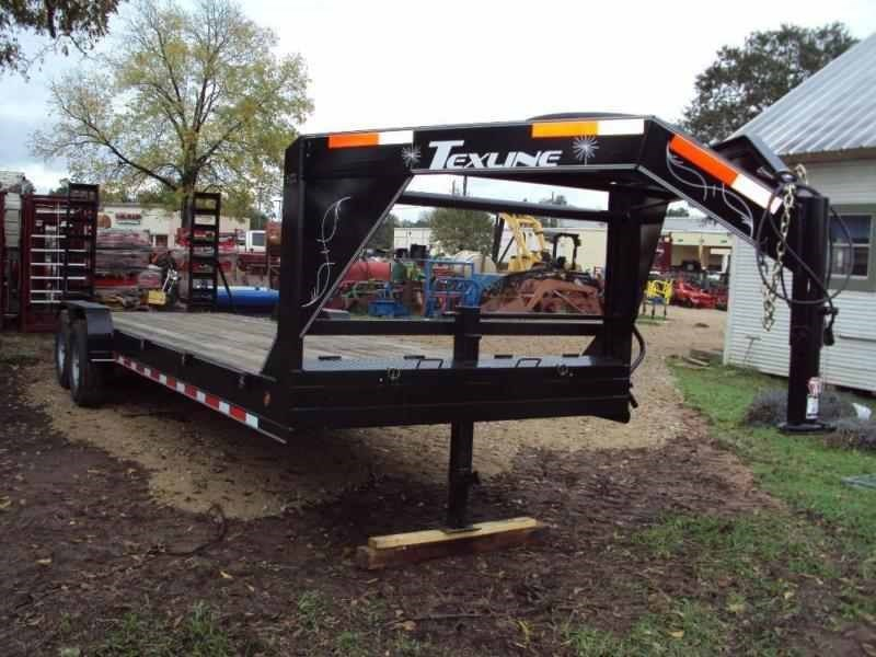 TexLine 24FT Gooseneck Equipment Trailer For Sale