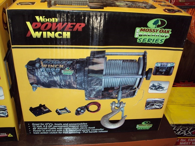Woods 2000 lbs 12volt Winch For Sale