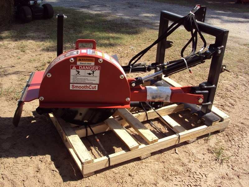 Worksaver 3PT PTO Drive Stump Grinder For Sale