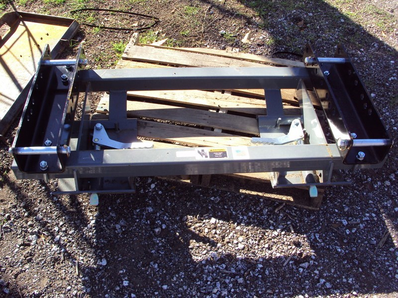 Worksaver Pin On Adapter Skid Steer Bucket For Sale