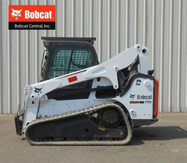 2012 Bobcat T750 Skid Steer-Track For Sale