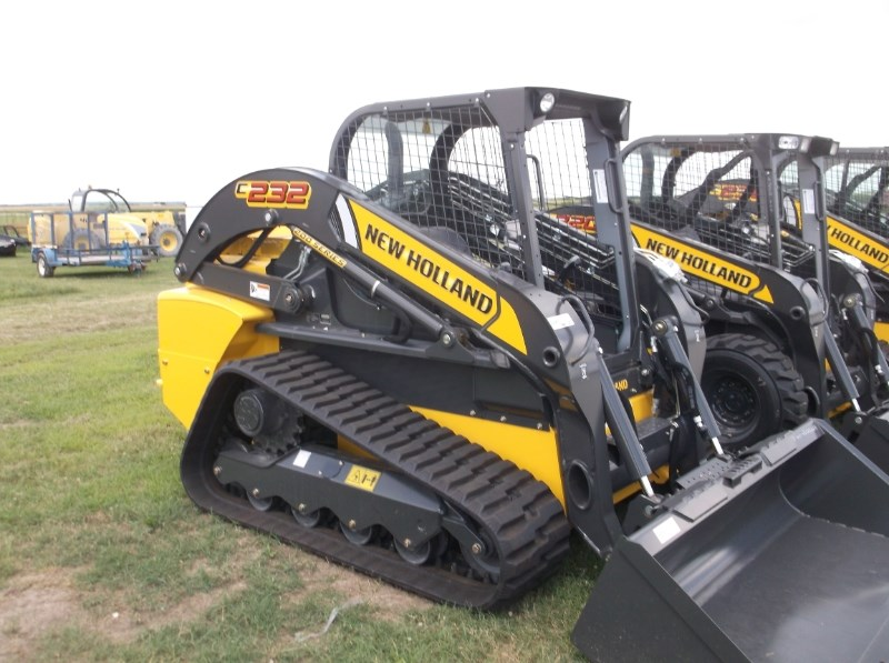 New Holland (NEW) C232 Open Cab Foot Controls Skid Steer For Sale