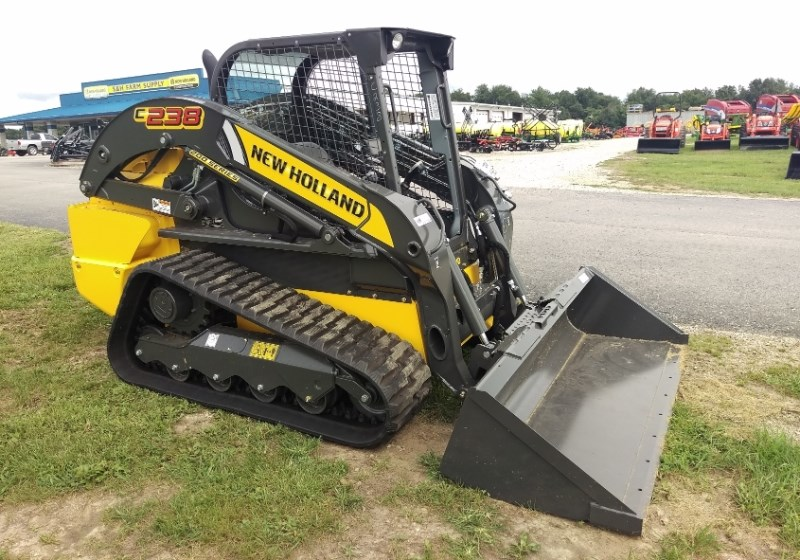New Holland (NEW) C238 Open Cab Foot Controls Skid Steer For Sale