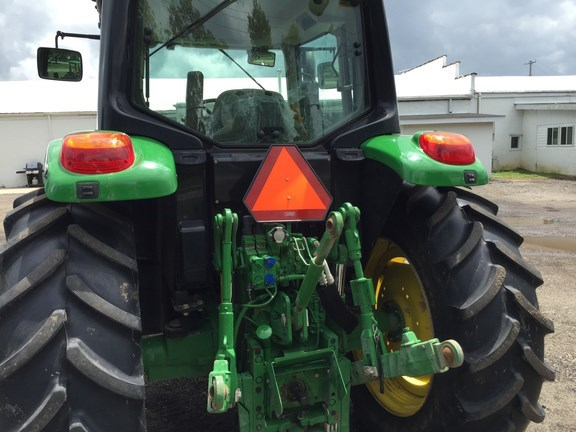 2015 John Deere 6115M Cab Tractor For Sale