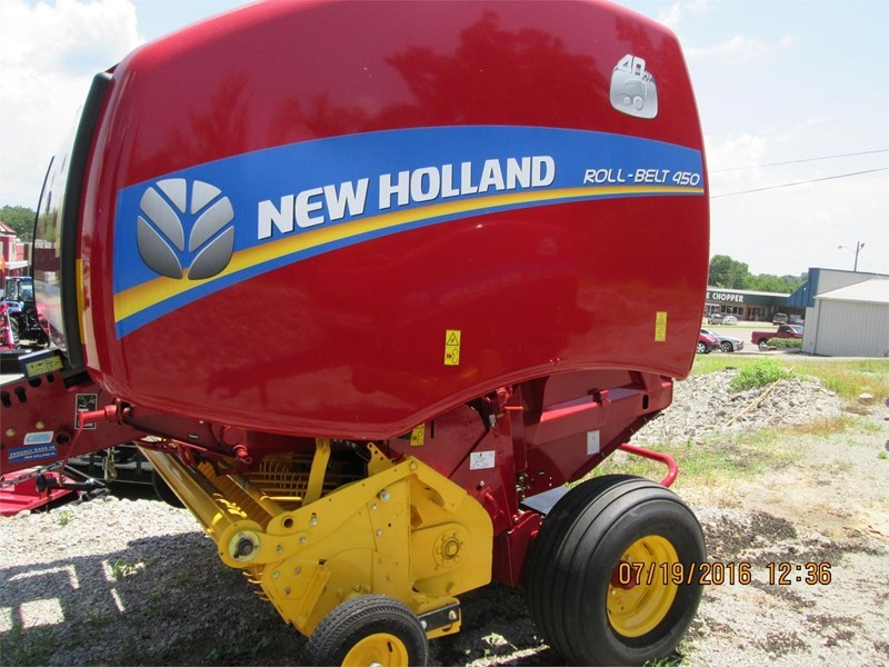 2016 New Holland ROLL BELT 450 Baler-Round For Sale