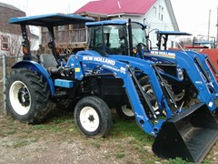 Tractor For Sale 2012 New Holland Workmaster 55 2WD Ldr , 46 HP