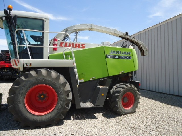 2008 Claas 900 GE Forage Harvester-Self Propelled For Sale