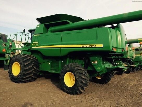 2009 John Deere 9670 STS Combine For Sale