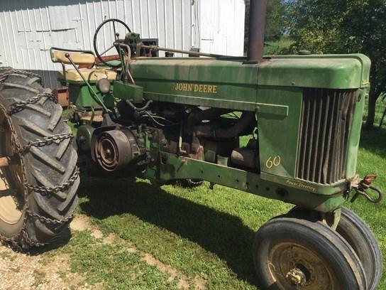 1952 John Deere 60 Tractor For Sale