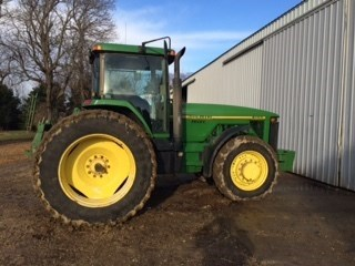1996 John Deere 8100 Tractor For Sale