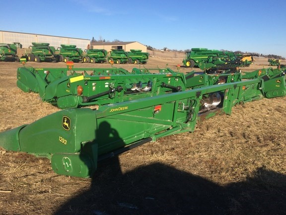 2005 John Deere 1293 Header-Corn For Sale