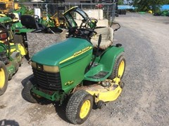 Riding Mower For Sale:  2000 John Deere GT235 , 18 HP