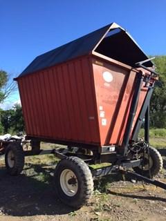 Forage Box-Wagon Mounted For Sale UFT 4205 12' HIGH LIFT DUMP WAGON W/ROOF