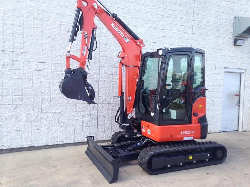 2017 Kubota U35-4R3A Excavator-Mini For Sale