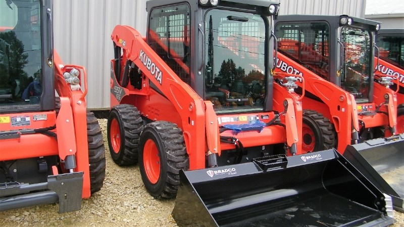 2017 Kubota SSV65  Skid Steer For Sale