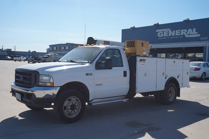 2004 Ford F550 Misc. Construction For Sale