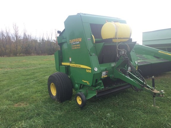 2007 John Deere 568 Baler-Round For Sale