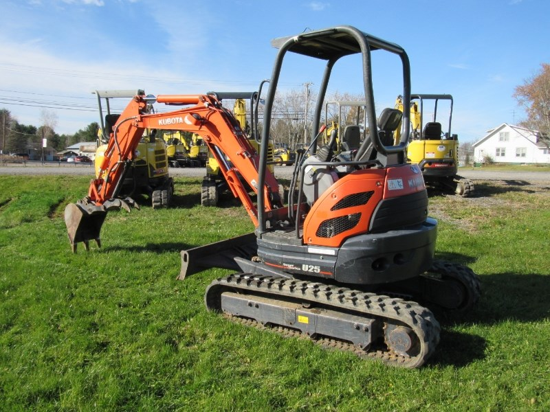 Kubota U25 Excavator-Mini For Sale
