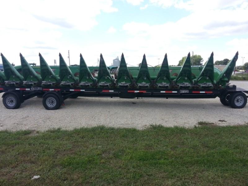 2014 John Deere 612c Header-Corn For Sale