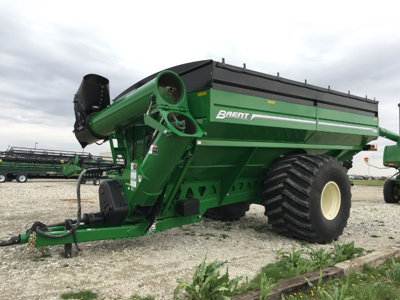 Unverferth 1196  W/TARP AND SCALES Grain Cart For Sale