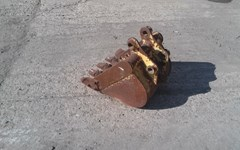 Excavator Bucket For Sale:  Shop Made PC35GP16