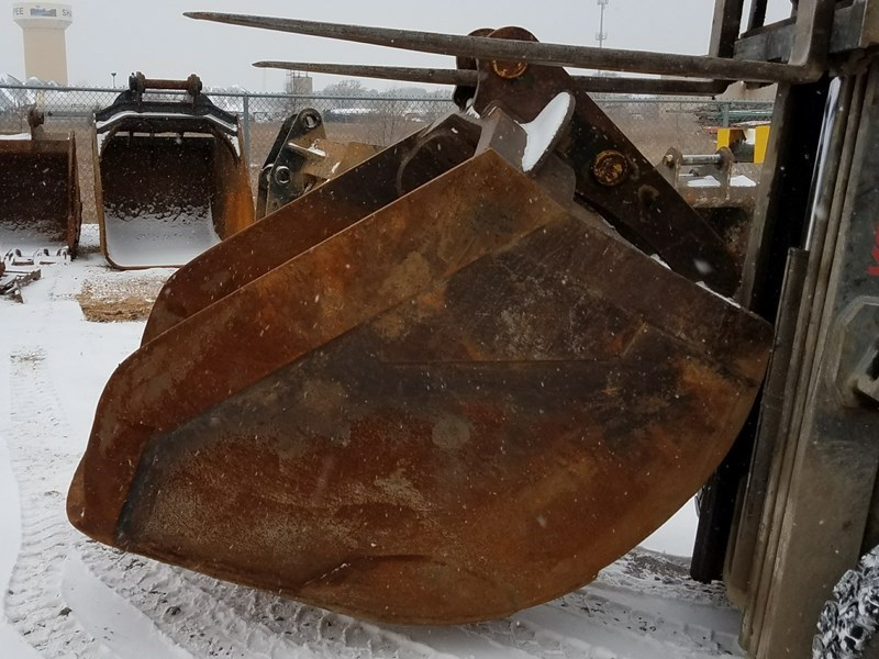 Shop Made PC220S Excavator Bucket For Sale
