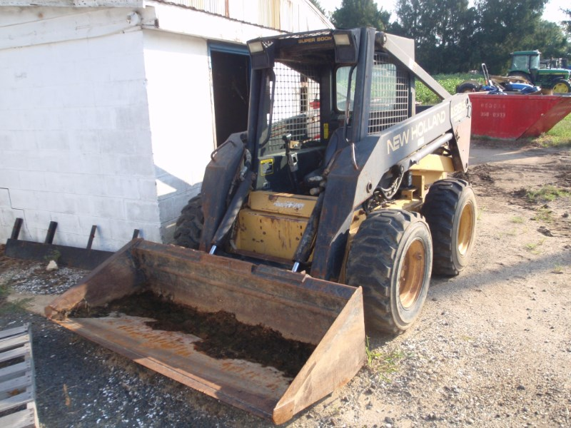 1995 New Holland LX885 Skid Steer For Sale