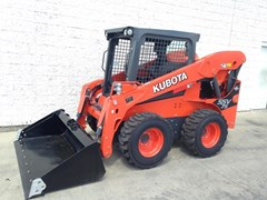 Skid Steer  2017 Kubota SSV75 , 74 HP