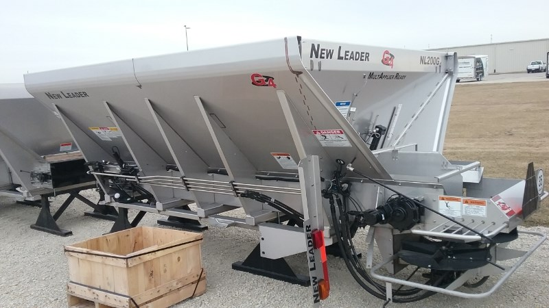 2016 New Leader NL200 304SS single  Fertilizer Spreader For Sale