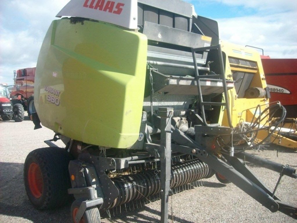2009 Claas 380RC Baler-Round For Sale