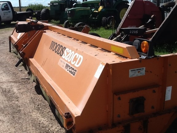 2010 Woods S20CD Flail Mower For Sale