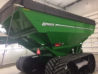 Brent 1182 TRACK/TARP/SCALES Grain Cart For Sale