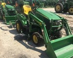 Tractor For Sale: 2014 John Deere 1023E, 23 HP