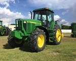 Tractor For Sale: 2001 John Deere 7610, 115 HP