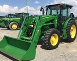 Tractor For Sale: 2012 John Deere 6140D, 140 HP