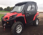 Utility Vehicle : 2014 Can-Am 2014 Commander 1000XT W/Cab & Heater