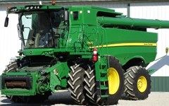 Combine For Sale 2015 John Deere S680 , 473 HP
