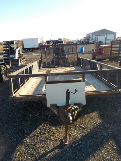 2007 Corn Pro 18',8K Equipment Trailer
