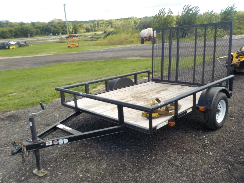 2014 Utility Trailer Manufacturing Co. 6X8 TRAILER Equipment Trailer