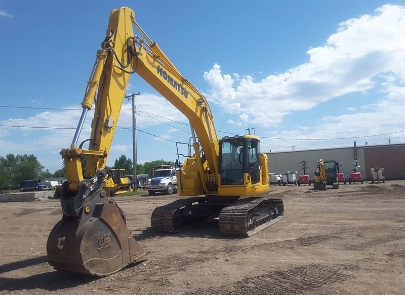 2016 Komatsu PC228USLC-10 Excavator For Sale