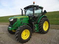 Tractor For Sale 2016 John Deere 6120R , 120 HP